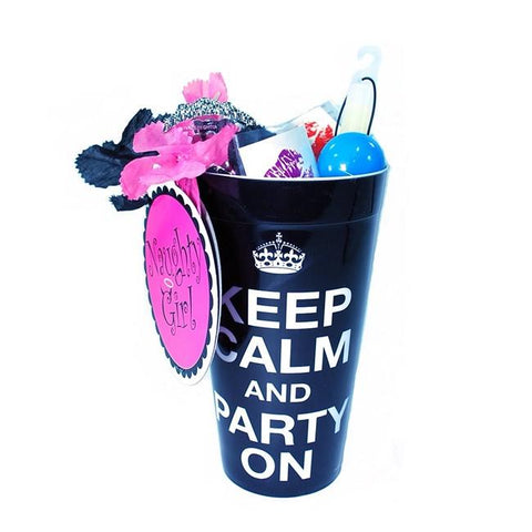 Party On Favor Filled Cup - Bachelorette Superstore - Bachelorette Party Ideas
