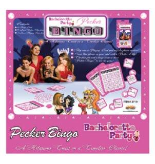 Pecker Bingo - Bachelorette Superstore - Bachelorette Party Ideas
