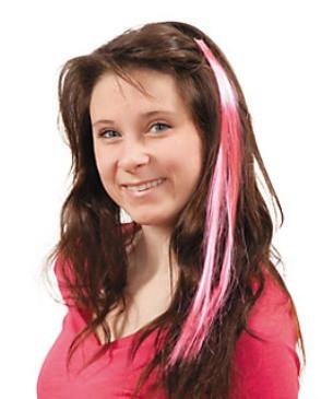 Pink Hair Extension Clip, 1 pc