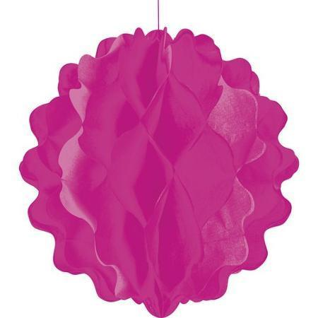 8 in. Pink Tissue Ball, 1 pc - Bachelorette Superstore - Bachelorette Party Ideas