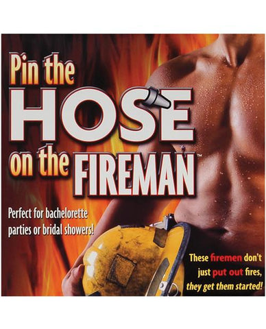 Pin the Hose on the Fireman - Bachelorette Superstore - Bachelorette Party Ideas