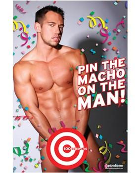 Pin the Macho on the Man - Bachelorette Superstore - Bachelorette Party Ideas