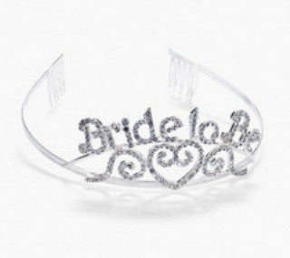 Rhinestone Tiara - Bride to Be - Bachelorette Superstore - Bachelorette Party Ideas
