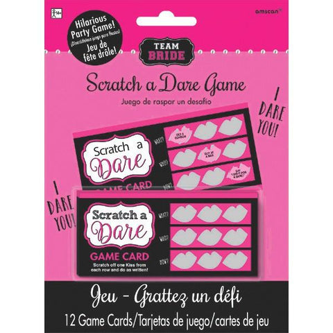 Girl's Night Out - scratch a dare, 12 cards - Bachelorette Superstore - Bachelorette Party Ideas