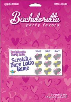 Bachelorette Scratch-a-Dare Lotto - Bachelorette Superstore - Bachelorette Party Ideas