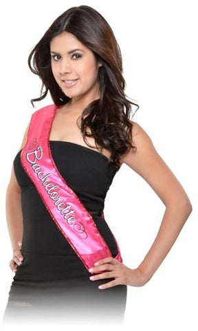Sequin Bachelorette Sash - Bachelorette Superstore - Bachelorette Party Ideas