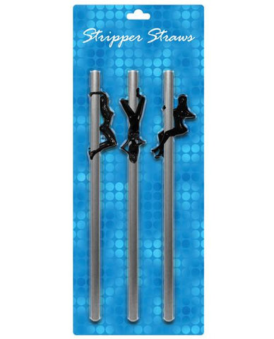 Female Stripper Straws- reusable! 3 pk - Bachelorette Superstore - Bachelorette Party Ideas