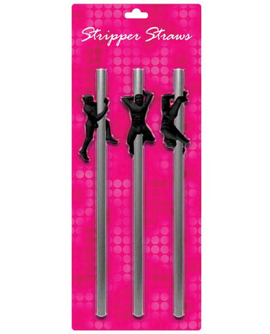 Male Stripper Straws- reusable! 3 pk