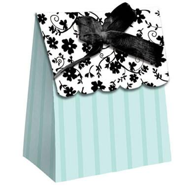 Two Love Birds Teal - Favor Bag 12 Pack - Bachelorette Superstore - Bachelorette Party Ideas