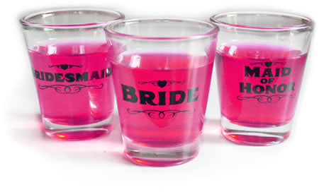 Maid of Honor Shot Glass, 1 pc clear