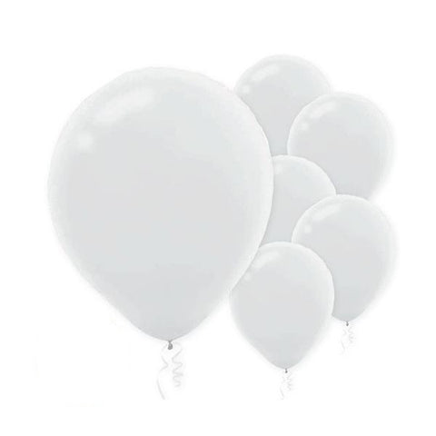 White Balloons, 15 pk - Bachelorette Superstore - Bachelorette Party Ideas