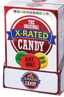 X Rated Candy, box
