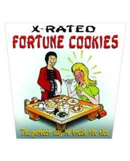 X Rated Fortune Cookies, 6 ct