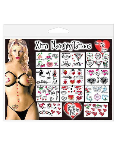 Xtra Naughty Tattoos, 75pc