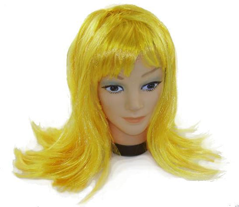 Yellow Party Wig