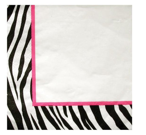 Zebra Passion Luncheon Napkins