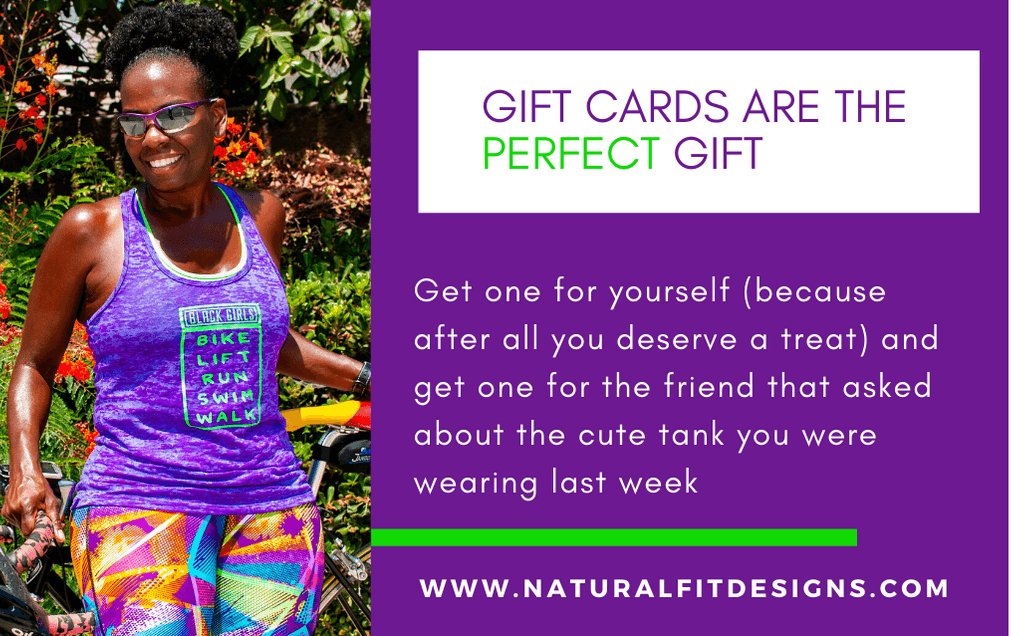 Gift Card Natural & Fit Designs