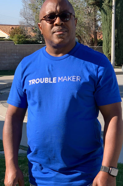 Men's Trouble Maker T-Shirt T shirt Sport Tek