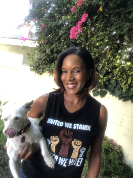 United We Stand United We Vote! Muscle Tank Tank Top Bella Canva