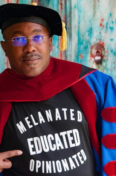 Melanated Educated Opinionated - Mens T-shirt