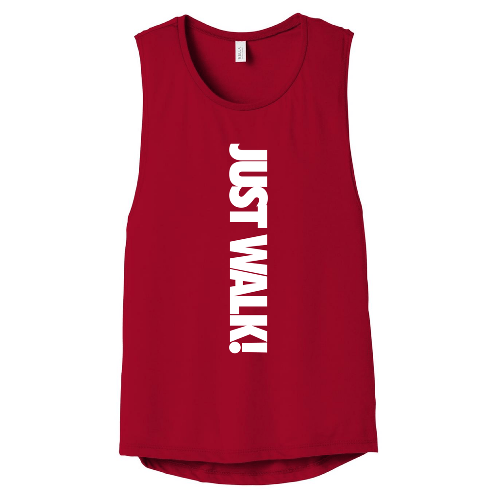 Just Walk! Muscle Tank Muscle Tank Bella Canva