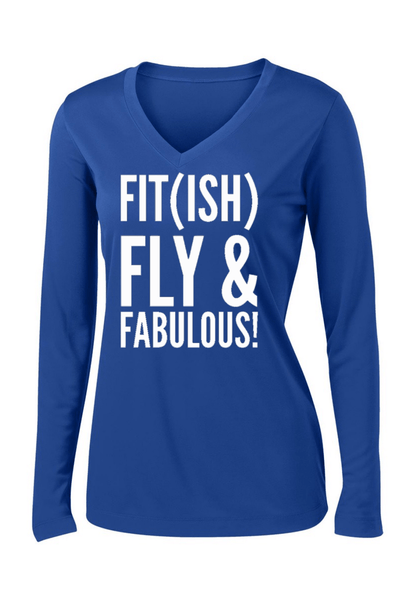 Fit (ish) Workout Long Sleeve T-shirt Long Sleeve T Sport Tek