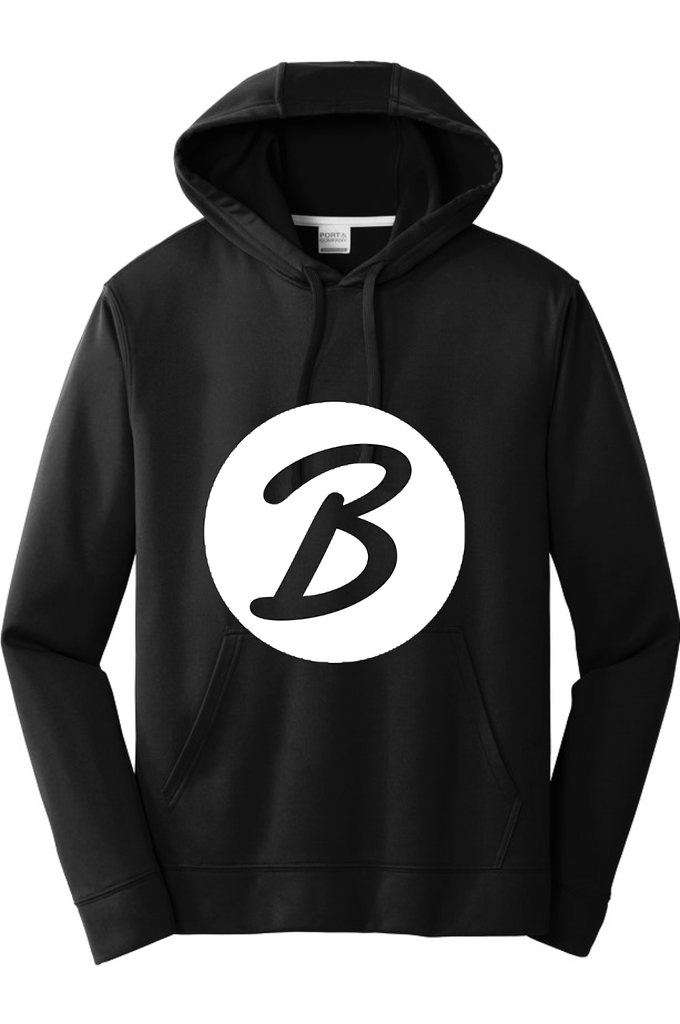 B! Black, Beautiful & Blessed! Hoodie Hoodie Port & Company