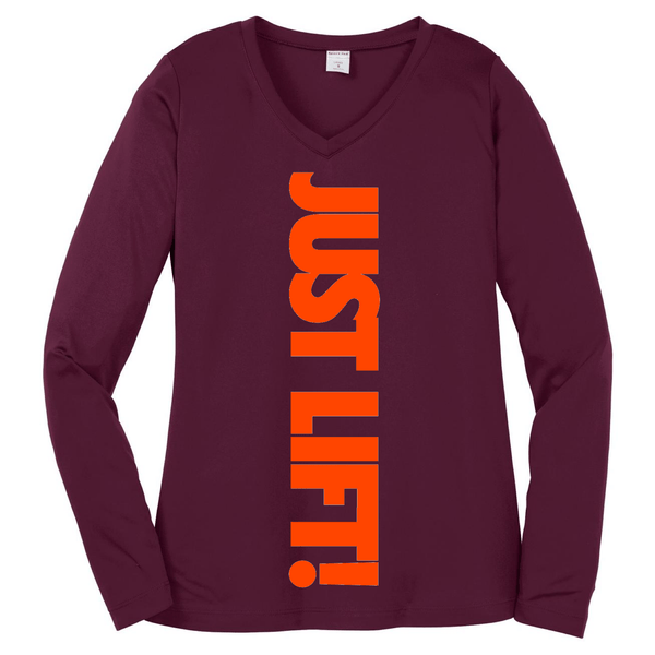 Just Lift! Long Sleeve T Long Sleeve T Sport Tek