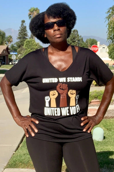 United We Stand United We Vote! T-shirt T shirt Bella Canva