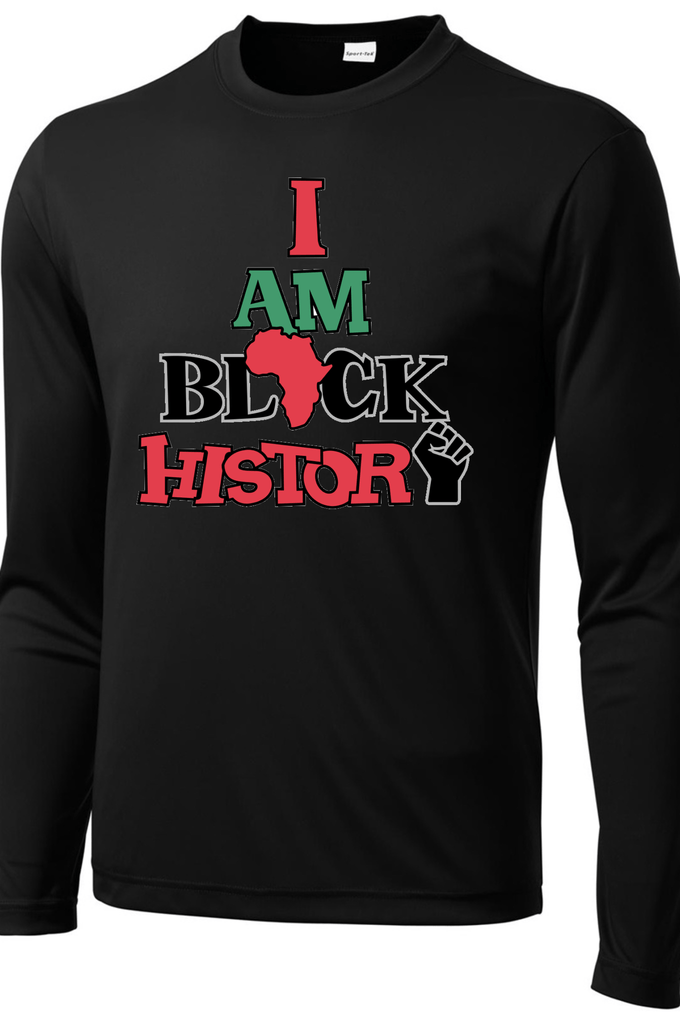 Men's I Am Black History Long Sleeve T-shirt