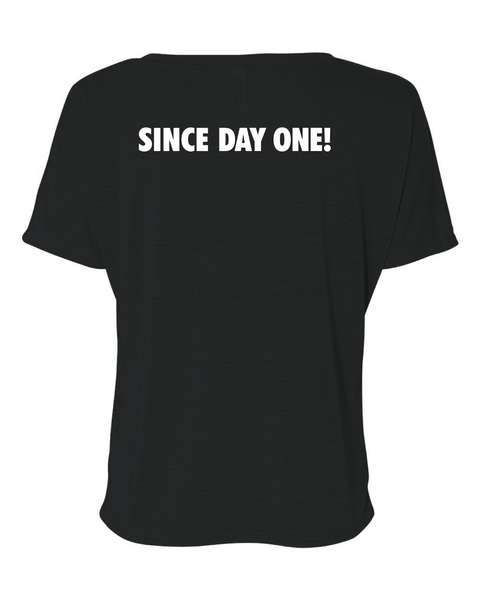 Social Distancing Since Day One! T-shirt T shirt Bella Canva