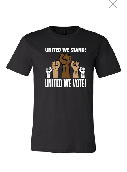 Mens's United We Stand United We Vote!