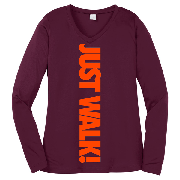 Just Walk! Long Sleeve T Long Sleeve T Sport Tek