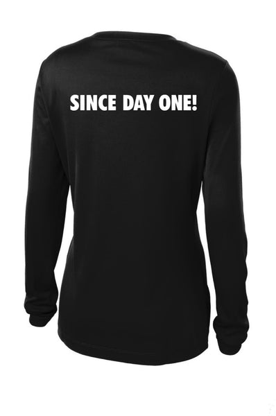 Social Distancing Since Day One! Long Sleeve T shirt Bella Canva