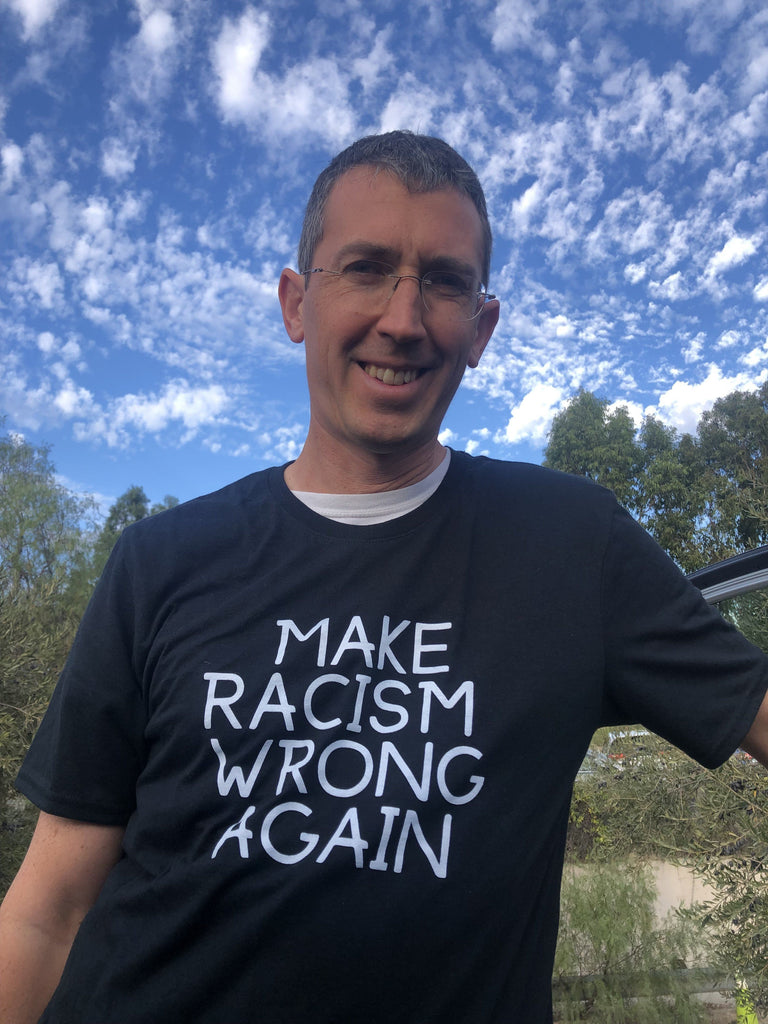 Make Racism Wrong Again - Men's Shirt T shirt Sport Tek