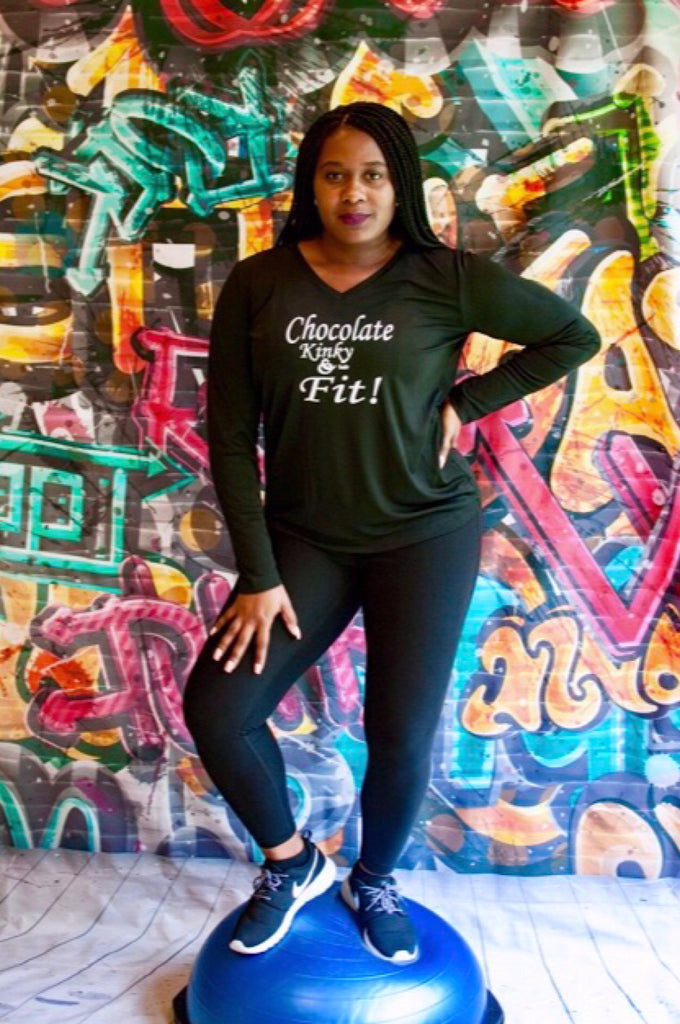 black girl t shirts, shirts for black girls,  fit black women tshirts, workout shirts for black women, melanin t shirts, tank tops for black girls, workout shirts for black women, running shirts for black girls, Chocolate, Kinky Fit, Natural hair tshirts, African American Women hair shirts