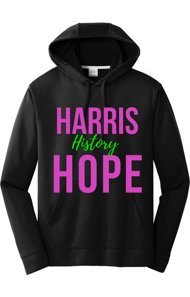 Harris History Hope Hoodie Hoodie Natural & Fit Designs