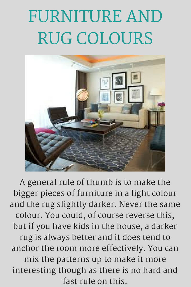 Furniture and Rug Colours