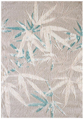 Capri Palm Springs Stone and Soft Blue Rug