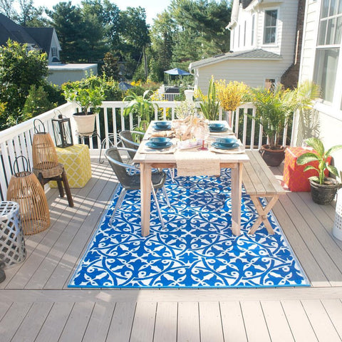 Great looking outdoor rug