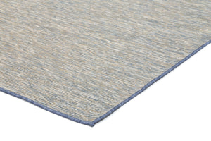 Sun Dance Blue Reversible Indoor Outdoor Rug