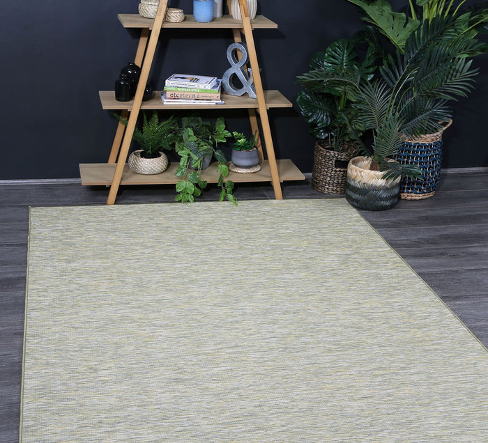 Sun Dance Green Indoor Outdoor Rug