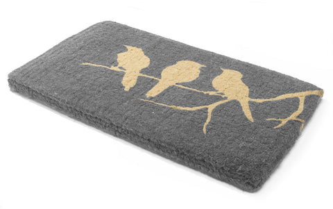 Birds On Branch 100% Coir Doormat - 75x45cm
