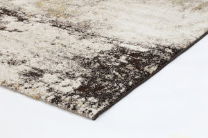 Vision Beige and Grey Abstract Modern Rug