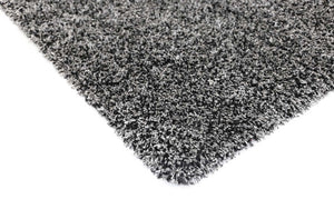 Arctic Plush Grey Shaggy Rug - Floorsome