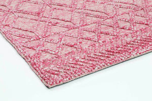 Braided Zair Transitional Abstract Rug Blush Zair  6 Blush