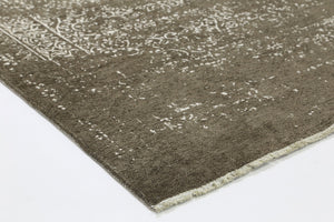 Rustic Vintage Distressed 2 in 1 Reversible Rug Beige
