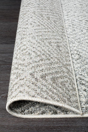 Aspect Riverside Ripple Grey Runner Rug - Floorsome