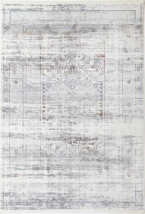 Cordelia Traditional Grey Multi Rug