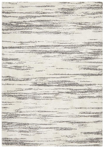 Broadway Evelyn Contemporary Charcoal Rug - Floorsome